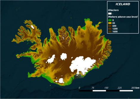 Iceland digital elevation map weather and climate change maffezzoni dem iceland gumiabroncs Choice Image